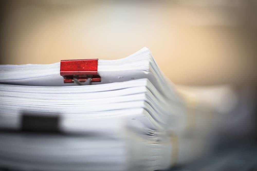 事前に用意できる書類とは何か?